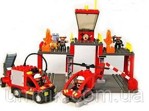 """Конструктор Jixin, """"Пожарная служба"""", 63 дет., 9188A, фото 2"""