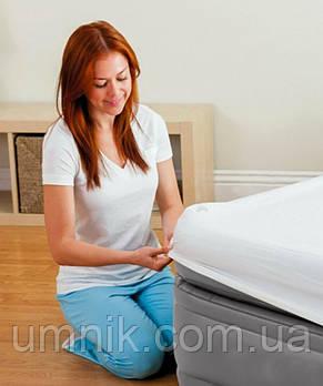Кровать надувная Intex с встроенным электрическим насосом, 64164, 203*152*51см, фото 3