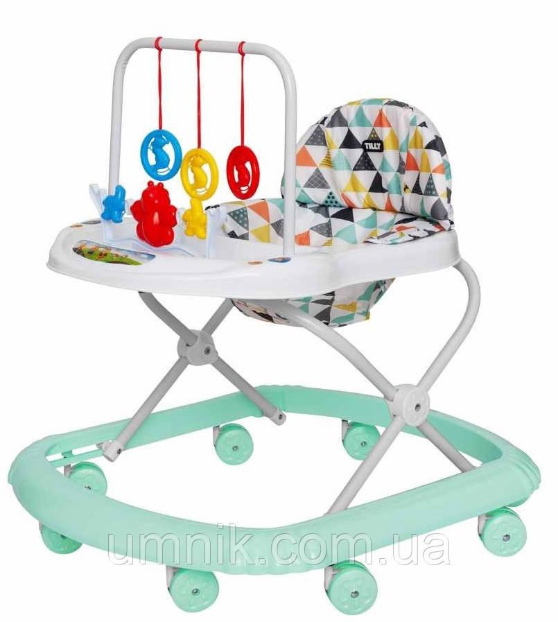 Дитяча каталка-ходунки, інтерактивні, Tilly Smile, T-4210-BEIGE