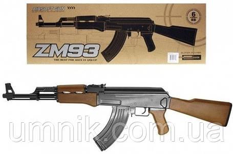 Іграшковий Автомат АК-47, 83 см, CYMA ZM93, фото 2