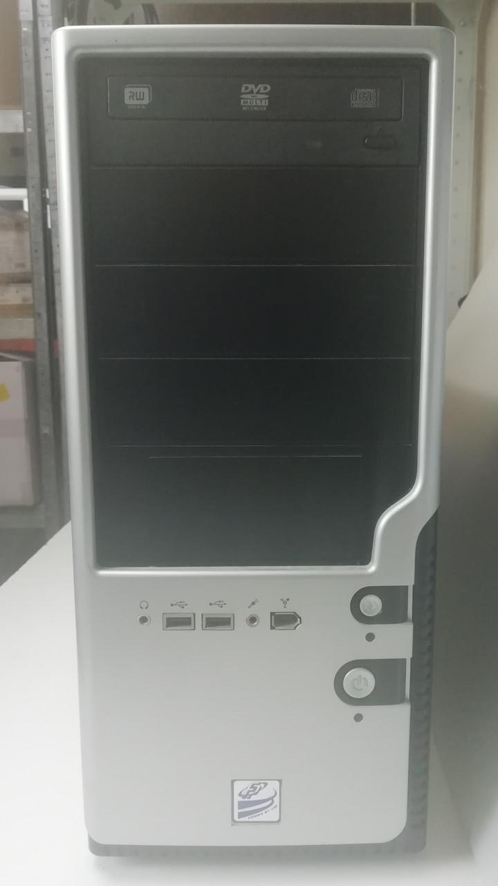 Комп'ютер ігровий Intel, 8Gb оперативної пам'яті і відео GeForce 9800GT 1Gb