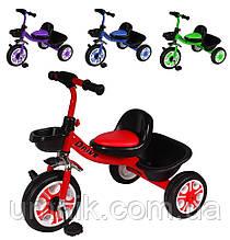 Велосипед детский трехколесный Tilly Trike T-318 Drive, 10 дюймов, EVA колеса