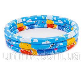 """Детский надувной бассейн Intex """"Винни Пух"""", 58915, 147*33см"""