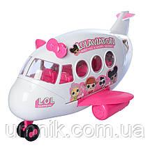 Игровой набор с куклой LOL и самлетом, K5625, фото 3
