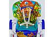 """Стульчик для кормления JOY """"Пират"""", от 6 до 36 месяцев, ремни безопасности, J 1750, синий, фото 3"""