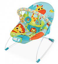 Детский шезлонг-качалка, музыкальная, с подвесками, Mastela, 61х57х47 см, 6875