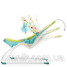 Детский шезлонг-качалка, музыкальная, с подвесками, Mastela, 61х57х47 см, 6876, фото 3