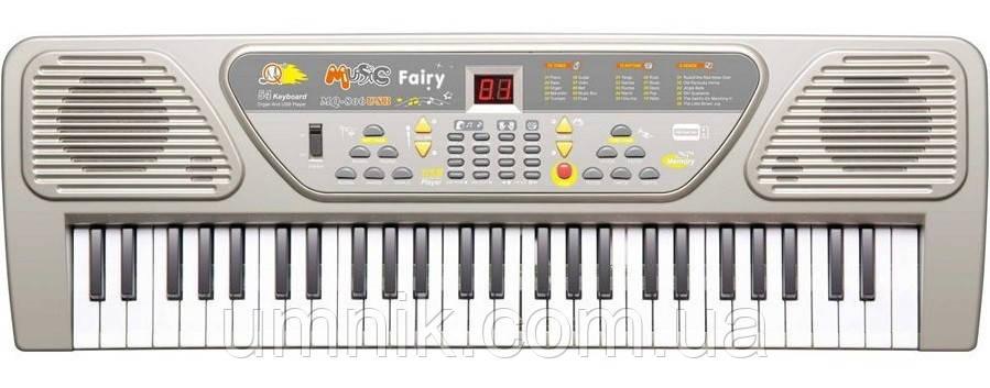 Детский игровой синтезатор, с USB, MP3 плеером, MQ-806USB