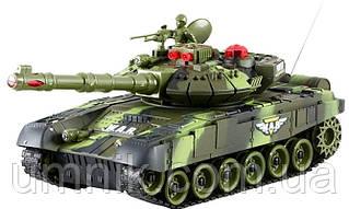 """Танк на радиоуправлении """"Abrams"""", световые, звуковые эффекты, аккумулятор, 9993"""