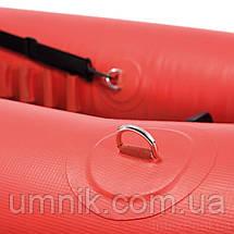 Надувная двухместная байдарка (каяк) Intex EXCURSION PRO, 68309, с насосом и вёслами, 384*94*46 см, фото 2