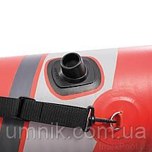 Надувная двухместная байдарка (каяк) Intex EXCURSION PRO, 68309, с насосом и вёслами, 384*94*46 см, фото 3