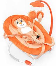 Детский шезлонг-качалка, с подвесками, Tilly, BT-BB-0002 Orange