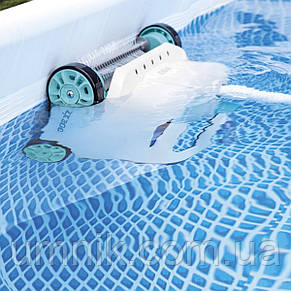Підводний робот-пилосос для басейнів, вакуумний пилосос, від насоса 6 028 л/год, Intex 28005, фото 3
