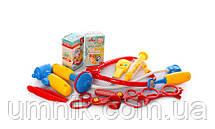 Дитячий ігровий набір доктора зі столиком, у валізі, медичні інструменти, 54 х 63 х 24,5 см 008-925, фото 3