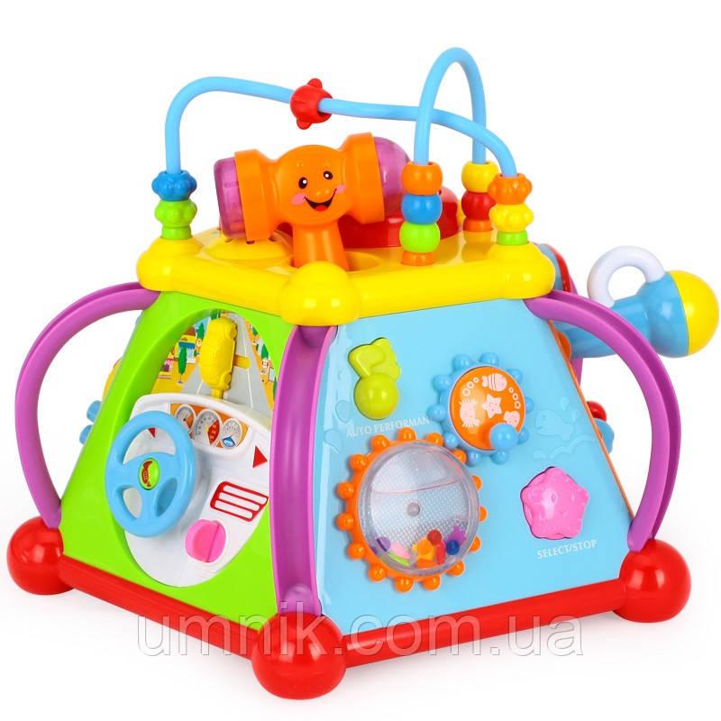 """Багатофункціональна розвиваюча музична іграшка """"Мультибокс"""", 806"""