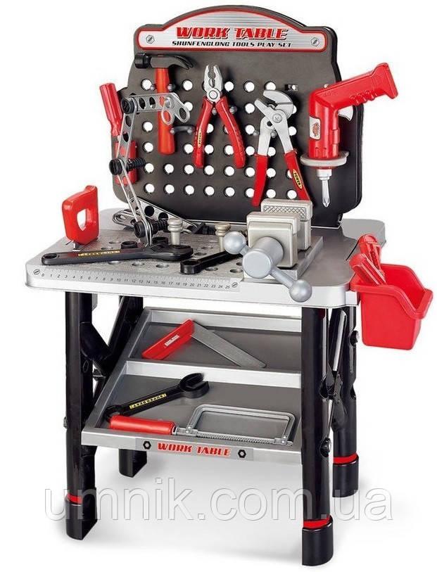 Ігровий набір інструментів з верстатом, майстерня, Work Table 58 х 68 х 33 см, 16554