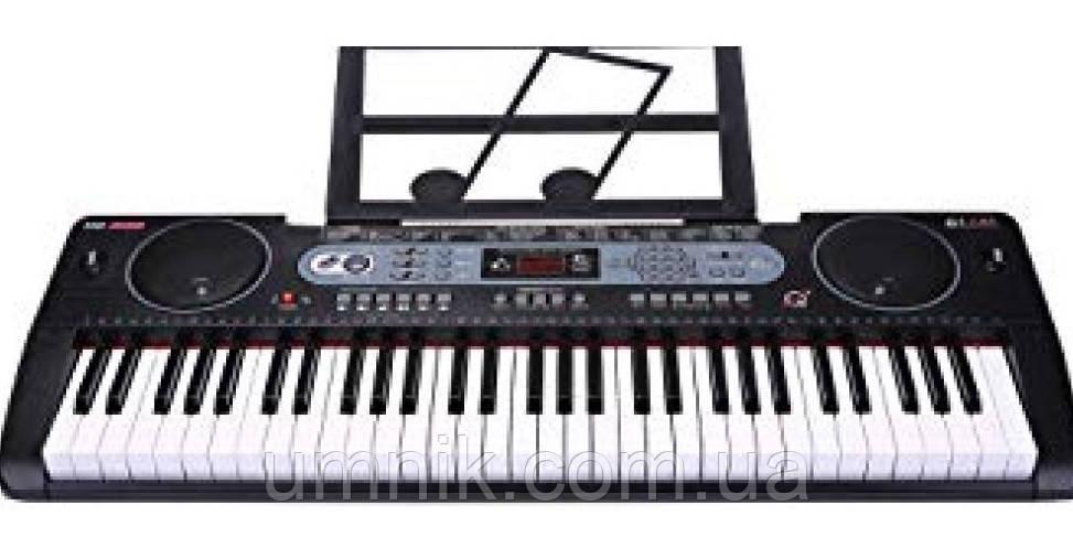 Детский игровой синтезатор, FM, USB-вход, MQ6130