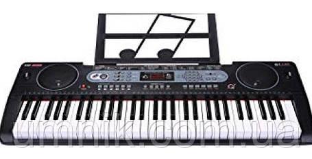 Детский игровой синтезатор, FM, USB-вход, MQ6130, фото 2