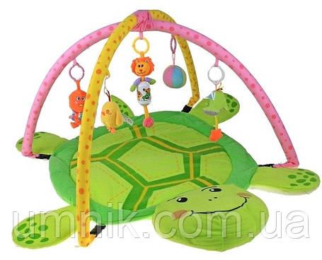 Детский развивающий игровой коврик с погремушками, 105*70*52 см, 898-12, фото 2