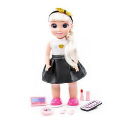 """Интерактивная кукла с пультом """"Кристина"""" говорящая (37 см) ходит, разговаривает, поет, Polesie"""