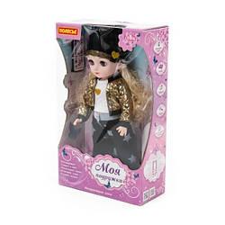 """Интерактивная кукла на радиоуправлении """"Арина"""" говорящая (37 см) ходит, говорит, поет, Polesie"""