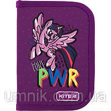 Пенал твердый без наполнения 1 отделение, 1 отворот, Kite Education Little Pony, LP20-621