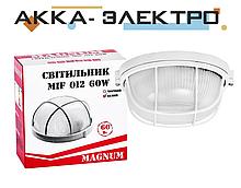 Світильник MAGNUM MIF012 60W E27 коло білий з реш.