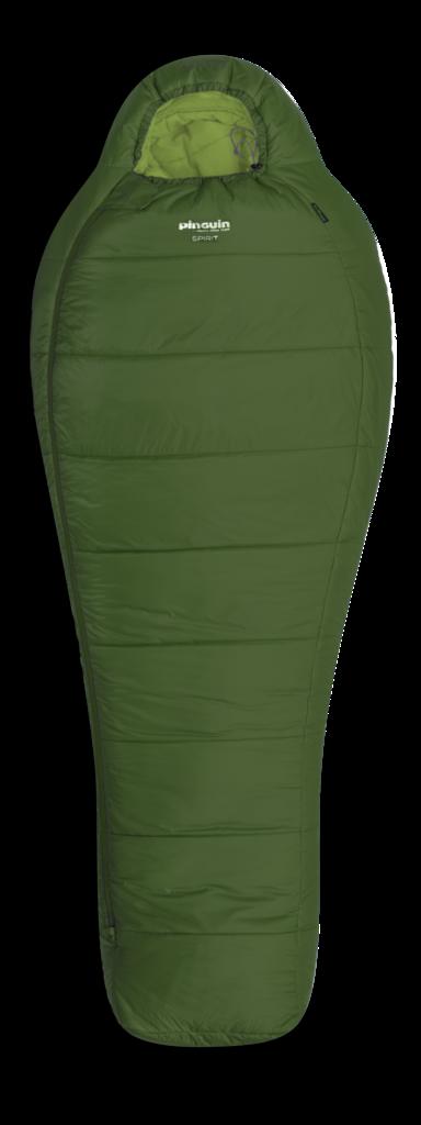 Спальний мішок Pinguin Spirit (-5/-12°C) 195 см зелений
