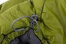 Спальний мішок Pinguin Spirit (-5/-12°C) 195 см зелений, фото 4