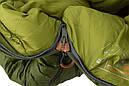 Спальний мішок Pinguin Spirit (-5/-12°C) 195 см зелений, фото 6