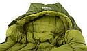 Спальний мішок Pinguin Spirit (-5/-12°C) 195 см зелений, фото 8