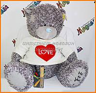 Мишка Тедди 60 см | Плюшевый мишка в вязаной кофте