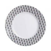 Тарілка столова десертна 19 см загартоване скло luminarc palermo (p3066)