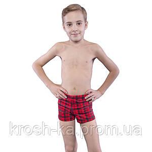 Плавки-шорты для мальчика (116-134)р красный Keyzi Польша 63521
