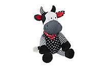 Мягкая игрушка Новый Год Корова черно-белая 24 см same toy (a1057/24)