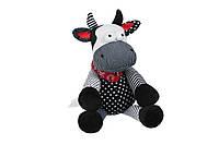 Мягкая игрушка Новый Год Корова черно-белая 30 см same toy (a1057/30)