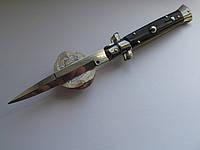 Купить Нож Итальянский автоматический стилет Frank Beltrame 23см рог буйвола bayonet