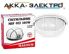 Светильник MAGNUM MIF012 100W E27 круг белый с реш.