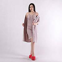 🌺 Комплект, халат і сорочка 1770, фото 1