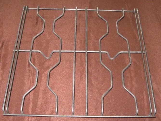 Решётка фигурная на газовые 4х-конфорочные плиты(без покрытия)