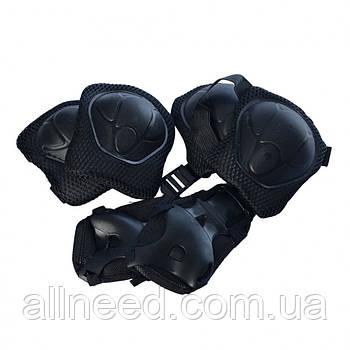Защита MS 0336-2 для коленей, локтей, запястий (Черный )