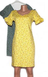 Жіноче літнє плаття міні  (44,46,48)