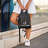 Рюкзаки жіночі модні, Жіночий рюкзак кожзам, Рюкзак міський жіночий, Жіноча сумка-рюкзак, фото 2