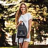 Рюкзаки жіночі модні, Жіночий рюкзак кожзам, Рюкзак міський жіночий, Жіноча сумка-рюкзак, фото 3