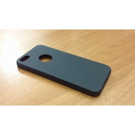 Черный Силиконовый чехол  для  iPhone 5/5S/SE