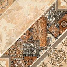 Плитка Интеркерама Карпетс 43x43 темно-коричневый (32)