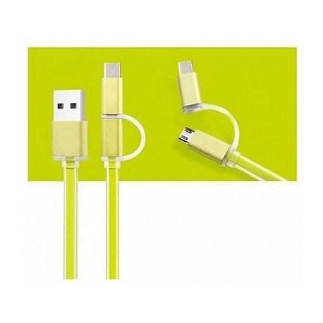 Кабель оригінальний Remax lightning USB зелений