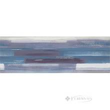 Декор Opoczno Artistico 25x75 blue inserto geo