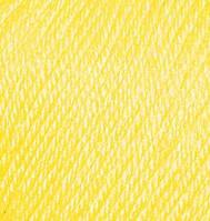 Пряжа ALIZE BABY WOOL  лимонный 187