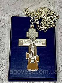 Крест иерейский светлый 60х100мм (10.0) К
